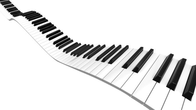 Sine curve Piano